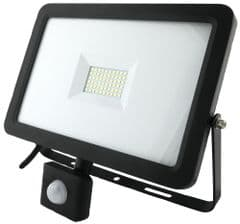 PRO ELEC PEL01014  50W Led Floodlight With Pir